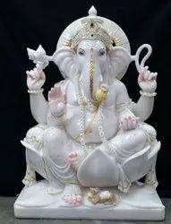 Stone Ganesha Marble Idols