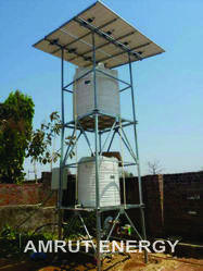 Solar Pump With Tank Holding