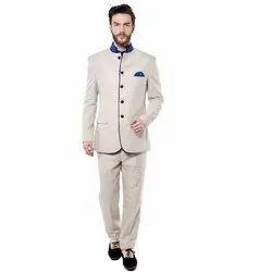 Plain Mens Full Sleeves Achkan, Size: S-xxl