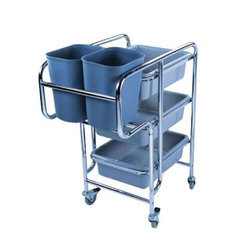 SS Cleaning Trolley