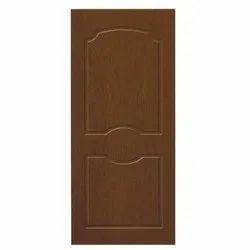 Brown 7-8 Feet Pine Wood Flush Door