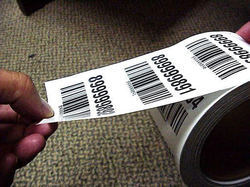 Pre Printed Bar Code Labels