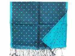 Men Dotted Silk Scarves
