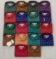 multi Collar Neck Branded Heavy Quality Mens Printed Shirts, Machine wash, Size: M L Xl