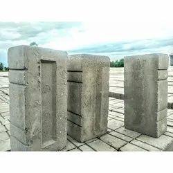 JK Rectangular 9x4x3 Inch Fly Ash Bricks
