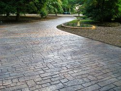 Stamp Concrete, For Hardscaping, Thickness: >25 mm