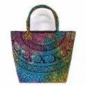 Printed Handcrafted Ladies Hand Bag
