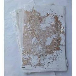 金色大理石手工纸