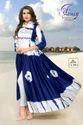 Women Designer Blue Kurti