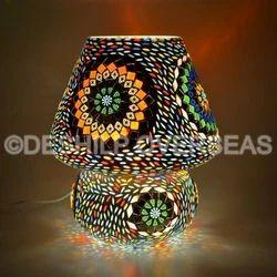 Colour Mosaic Table Lamp