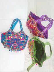 Printed, Plain Modern Designer Bag