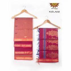 KSLA08 Handloom Semi Kora Silk Salwar Set
