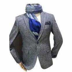 Printed Regular Fit Men Casual Blazer