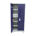 Supreme Blue, Purple Mild Steel Cupboard, For Home, Size: 78x34x17