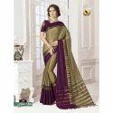 Ladies Cotton Saree With Blouse, Length: 6.3 M