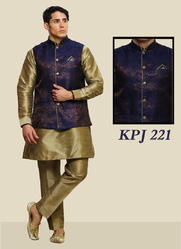 Designer Kurta Pyjama With Jacket