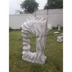 Rectangular Outdoor Marble Garden Article, Size: 18 x 30 Inch