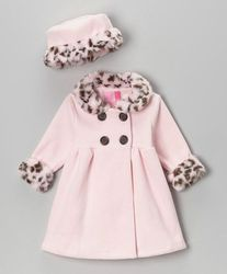 Full Sleeve Woolen Girls Jackets With Faux Fur, Size: 4 -12 Year