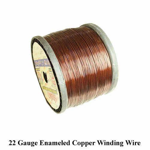 22 Gauge Enameled Copper Winding Wire, वाइंडिंग की तार