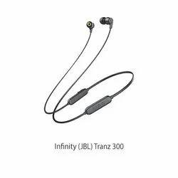 Mobile Black Infinity (JBL) Tranz 300 Wireless In-Ear Deep Bass Headphones with Mic