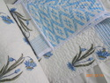 Block Printed Kantha Quilts