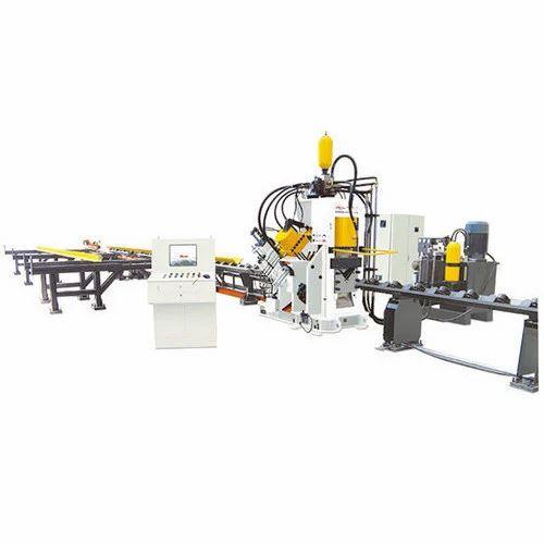 Cnc Angle Punching Machine