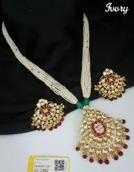 Wedding Wear Antique Mala Set