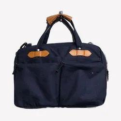 Canvas PU Laptop Bag