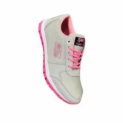 Sms Ladies Canvas Sports Shoes, Size: 5-9