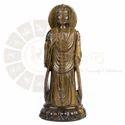 Tigereye Gemstone Buddha Sculpture
