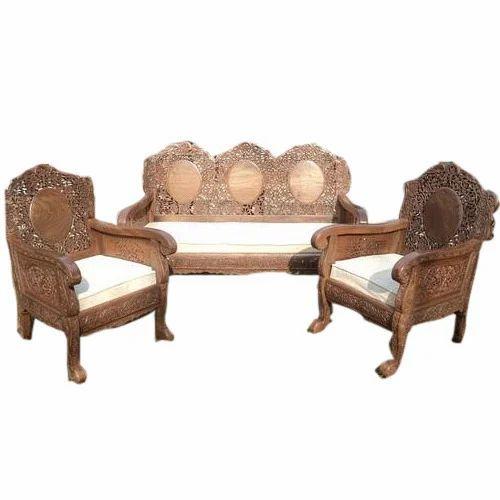 Wooden Sofa Set Designer Sofa डिजाइनर सोफा सेट Lal