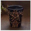 Printed Ceramic Flower Vase