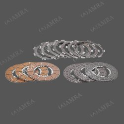 Stainless Steel Amra Three Wheeler Clutch Plate Set, Packaging Type: Box