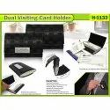 Dual Visiting Card Holder (Model H-1133)