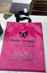 Plain, Printed Handled Nylon Bags, For Shopping, Bag Size: 12x16