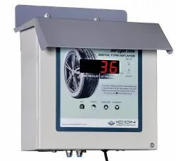 Digital Tyre Inflator Wall Mountable - LED