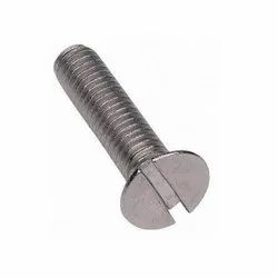 Slotted CSK Head Screw