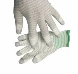 Ring Type Carbon Yarn ESD Gloves
