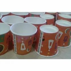 Mahakal Enterprises Plain Khatima Paper Cup, For Event and Party Supplies, Capacity: 100 Ml