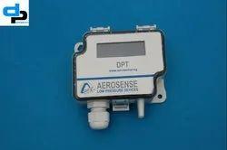 Aerosense Model DPT 2500-R8-3W Differential Pressure Transmitter Range 0-2500 Pascal