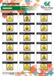 Auto Glow Warning Signage 01