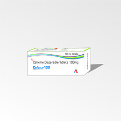 ANGIOLIFE HEALTHCARE Cefanz Cefixime 100 mg Tablets