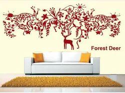 Big Stencils Forest Deer