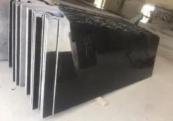 Black Pearl Polished Granite Slab