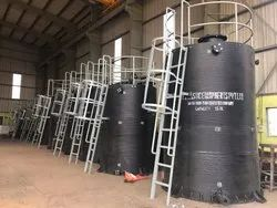 Spiral HDPE Storage Tanks