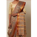 Masericed Kasuti Silk Saree, 6 M