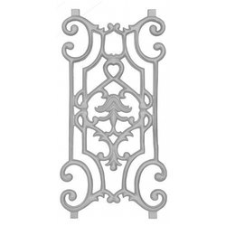 Designer Balcony Railing Pillar