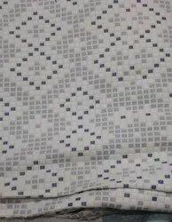 Cream Jacquard Knitting Fabric