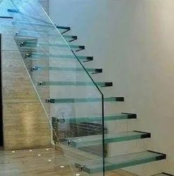Multicolor Toughened Heat Resistance Safety Glass, For Windows, Thickness: 2-19mm