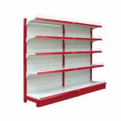 Wall Mounted Type ( One Single Side )  Super Market Storage Racks